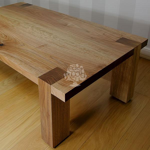 журнальные столики из массива дерева на заказ в спб